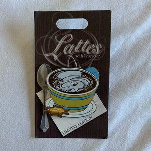 Disneyland Lattes with Character Pin